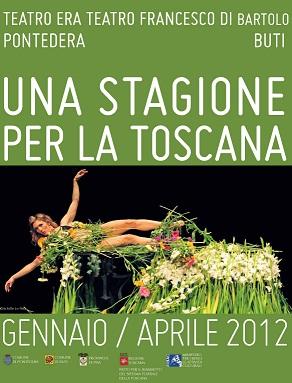 La stagione di teatro per la Toscana va in scena al Teatro Era e Francesco di Bartolo a Pontedera