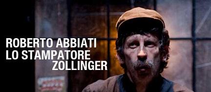 Lo stampatore Zollinger di Roberto Abbiati al Teatro Cuminetti di Trento