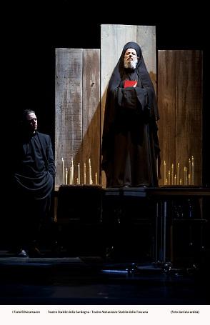 I fratelli Karamazov di Dostoevskij al Teatro Massimo di Cagliari. Prima edizione del Festival della filosofia