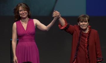 """""""Franca la prima"""":il documentario di Sabina Guzzanti dedicato a Franca Valeri. Il rammarico del festival Inequilibrio per non averla accolta ospite d'onore"""