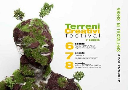 """Cresce rigoglioso su """"terreni creativi"""", il festival di spettacoli in serra dei Kronoteatro di Albenga. Tre giorni di musica, parola, gesto, teatro e danza"""