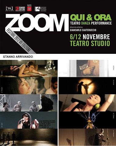 Qui&Ora e Zoom Festival riparte al Teatro Studio di Scandicci per la settima volta