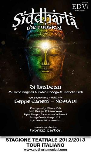 Il musical Siddharta al Teatro delle Celebrazioni di Bologna