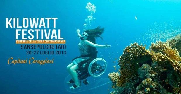 """Sbarcano a Kilowatt Festival i """"Capitani Coraggiosi"""" e invadono Sansepolcro di energia contemporanea"""