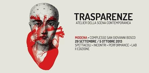 Sono Trasparenze in scena nell'Atelier della scena contemporanea di Modena