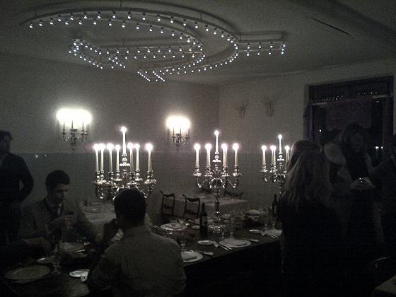 Di giorno si vende argenteria, di sera si cena al ristorante. Un nome solo: Pampaloni, Firenze.