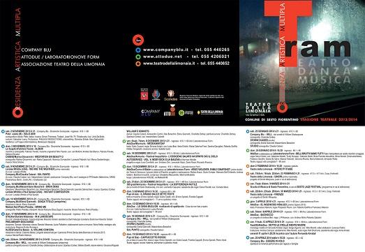 Un T.R.A.M. porta al Teatro della Limonaia di Sesto Fiorentino