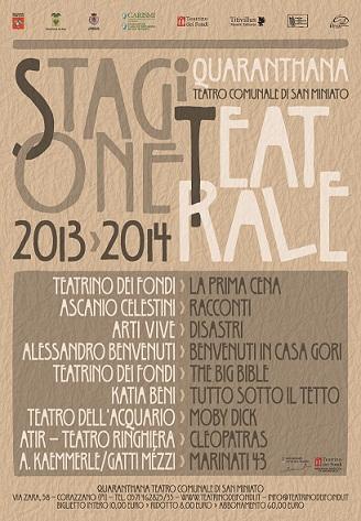"""Il Teatro Quaranthana di San Miniato fa """"sistema Corazzano"""" per fare economia e produzioni"""