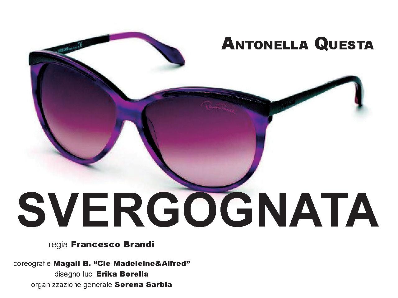 """L'amore al tempo di Instagram. Antonella Questa debutta a Fontanellato (Parma) con il nuovo """"solo"""" comico sul tema dell'immagine."""