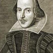 William Shakespeare nel ritratto eseguito da Martin Droeshout