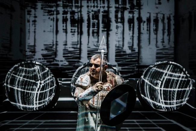 La nuova Eneide krypton + Litfiba: laser techno per una Storia immortale