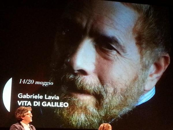 Il direttore Gabriele Lavia