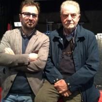 Pietro Valenti e Jeton Neziraj Teatro di Ferizaj