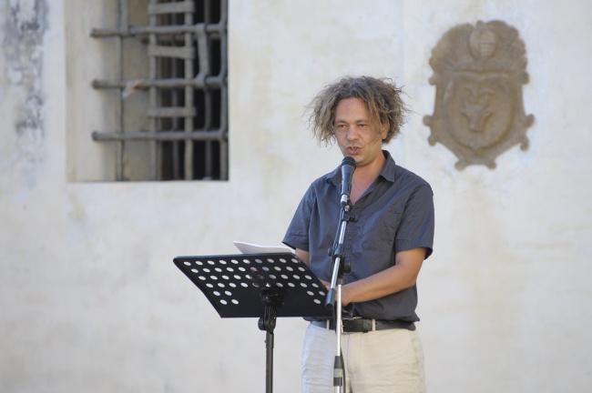 Michele Santeramo al festival Collinarea di Lari estate 2013