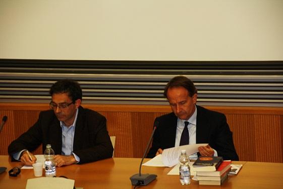 Vito Mancuso e Guido Rispoli