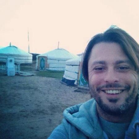 Claudio Pelizzeni in Mongolia