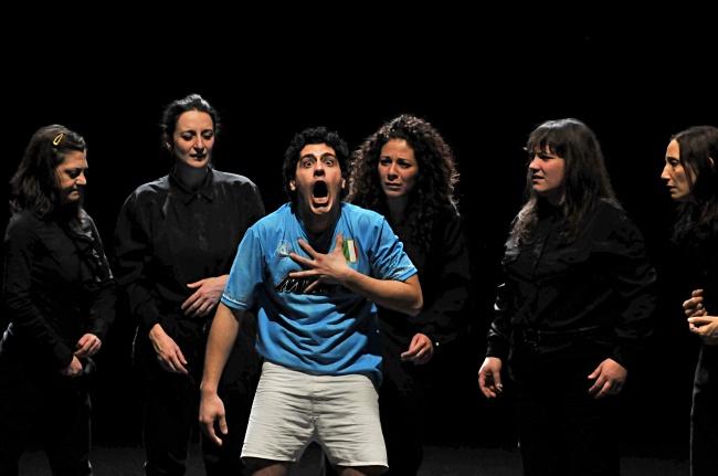 """""""Le sorelle Macaluso"""" di Emma Dante, nella prossima stagione al Met. Foto di Carmine Maringola"""