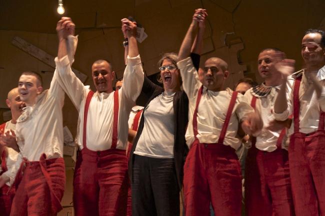 Pinocchio scenapadre12, compagnia di Sollicciano