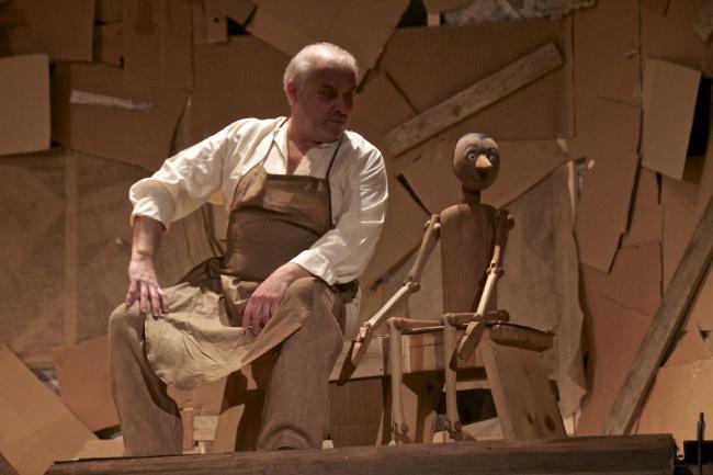 Pinocchio scenapadre16, compagnia di Sollicciano