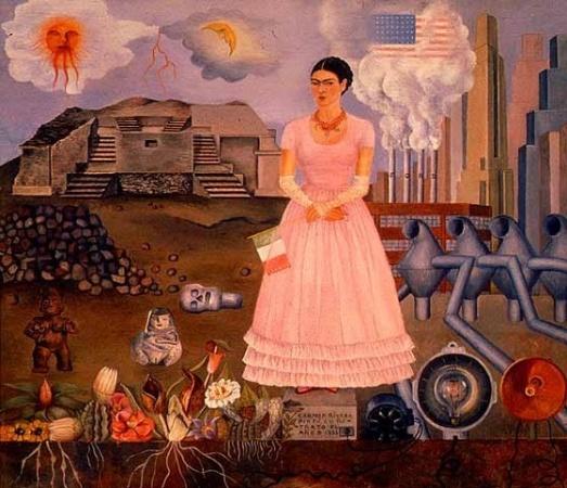 Autoritratto al confine tra Messico e gli Stati Uniti d'America, 1932