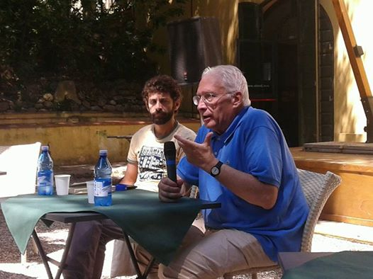 Franco Cordelli e Simone Nebbia