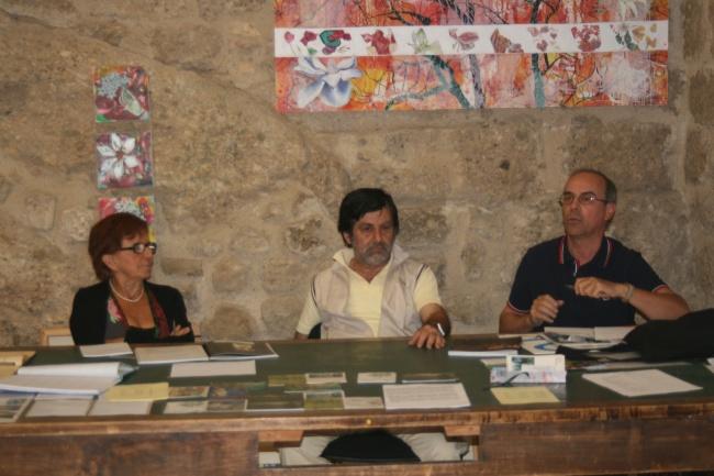 La giuria del premio: Ottolenghi, Avanzo, Marcotti