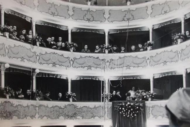 foto d'epoca del Teatro