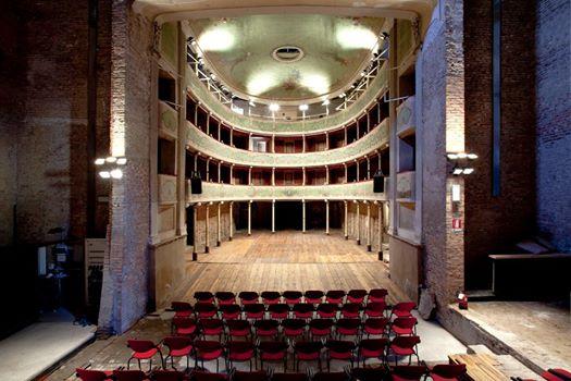 L'interno del Teatro di Gualtieri