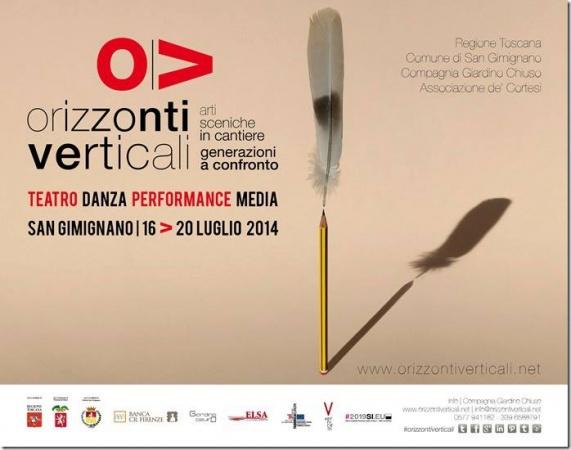 Orizzonti Verticali – Arti sceniche in cantiere a San Gimignano