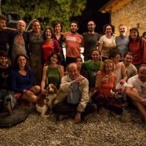 Gli allievi del Forman Broters Theatre workshop insieme a Matěj Forman