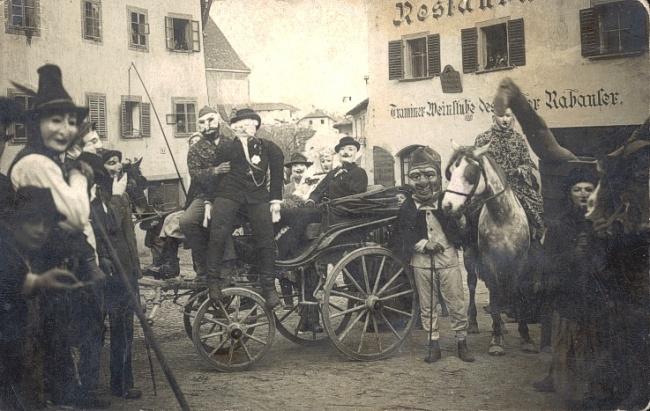 La sfilata dell'Egetmann del 1907