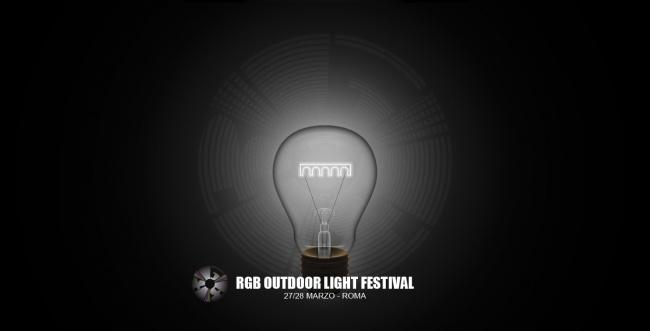 RGB Light Festival 2015 a Roma