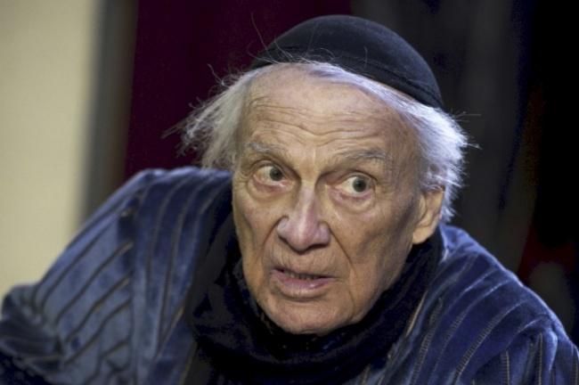 """Giorgio Albertazzi è Shylock sulla scena, ma 'Lezioni americane' """"è lo spettacolo che mi assomiglia di più"""""""