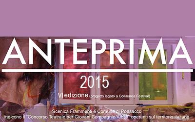 Premio Anteprima 2015 IV edizione -Collinarea