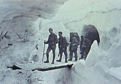Inaugurazione del Museo della Grande Guerra sulla Marmolada