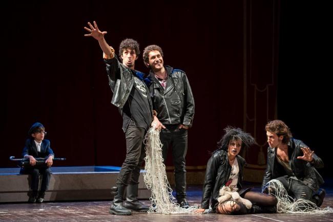 I punk (Arianna Di Stefano, Laurence Mazzoni, Michele De Paola, Daniele Santisi)