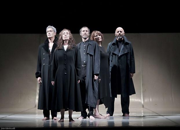 UN INFERNO - A.Costagli, L.Socci, D.Frosali, G.Colzi, M.Salvianti (foto di Alessandro Botticelli)