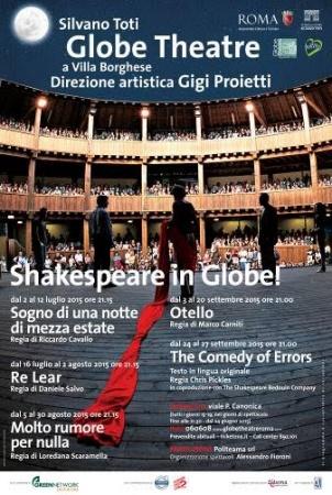 Al Globe Theatre di Roma si parlerà anche inglese