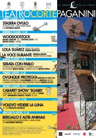 Arte musica e spettacolo a Castè Corte Paganini