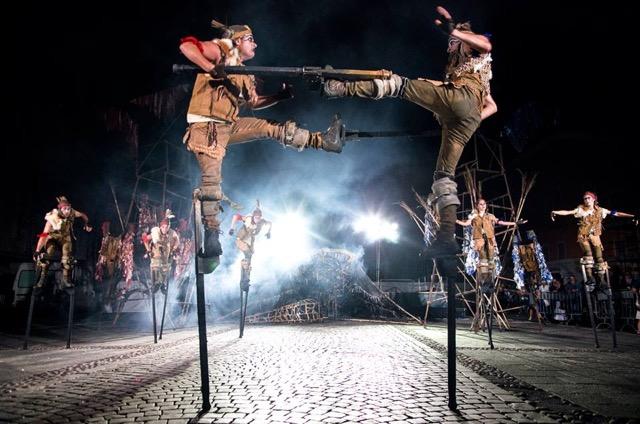 La danza e il teatro di strada a Kilowatt Festival
