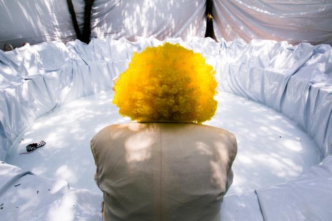 NARCISO, Metamorfosi di Roberto Latini - crediti di Futura Tittaferrante