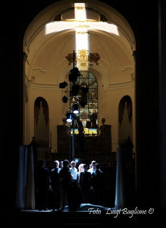 """Passio Hominis"", regia A. Calenda, 2015 (foto: Luigi Baglione)"