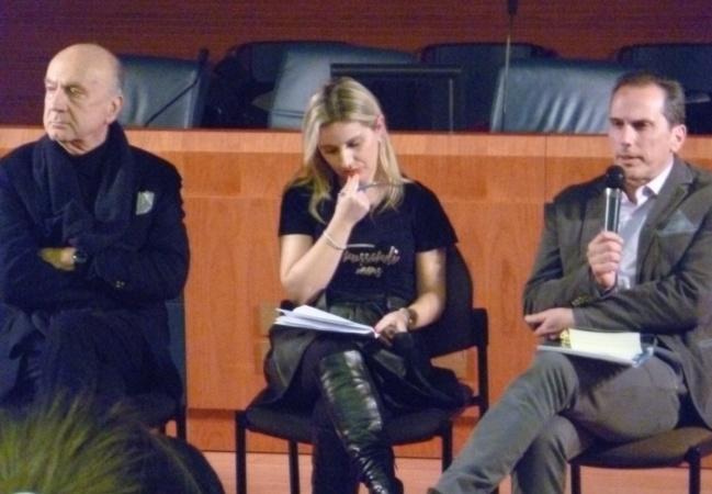 """Conferenza stampa di presentazione del libro """"Il Teatro all'Aquila e in Abruzzo. Tsa, cronaca e storia"""" di Antonio Di Muzio, 16 febbraio 2015 (foto: Annalisa Ciuffeteli)"""