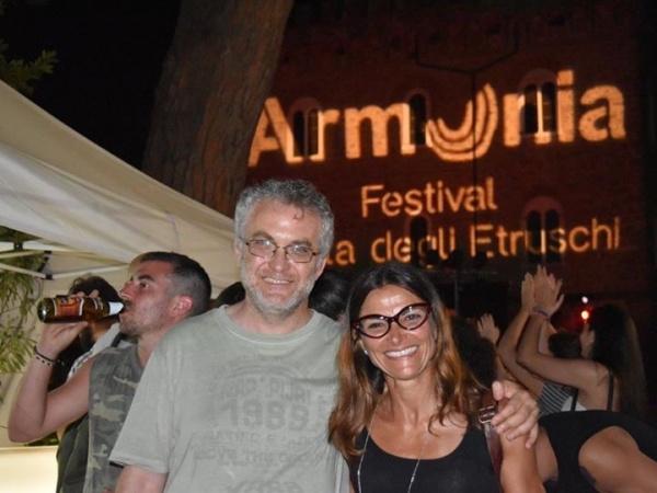 Fabio Masi e Angela Fumorala