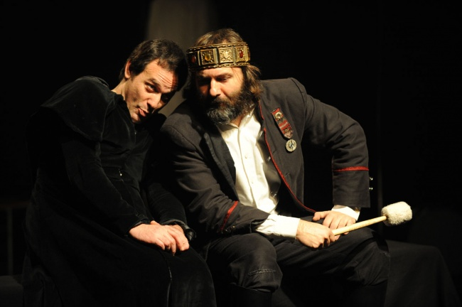 Amleto a pranzo e a cena, prima versione con Roberto rustioni, Angelo Romagnoli, Armando Iovino