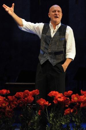 Claudio Biso , foto di Bepi Caroli