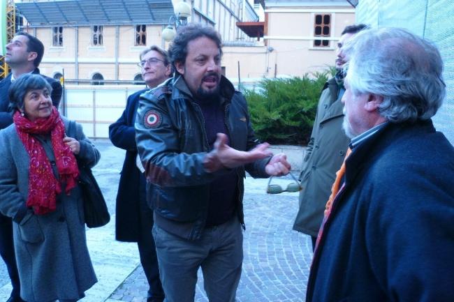 Da sinistra: B. Leone, M. Cialente, E. Brignano, M. Marchetti