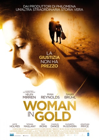 woman in gold - 2015 - locandina