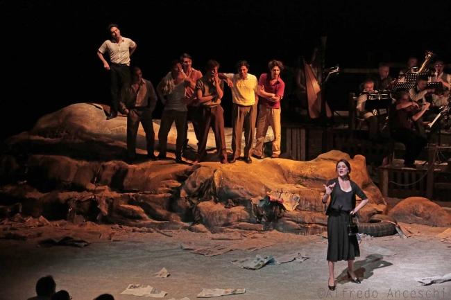 Morte e Vita di Pasolini nel dramma musicale di Montalbetti e Baliani