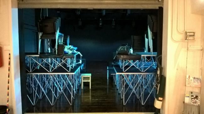 La sala dell'Officina Teatro